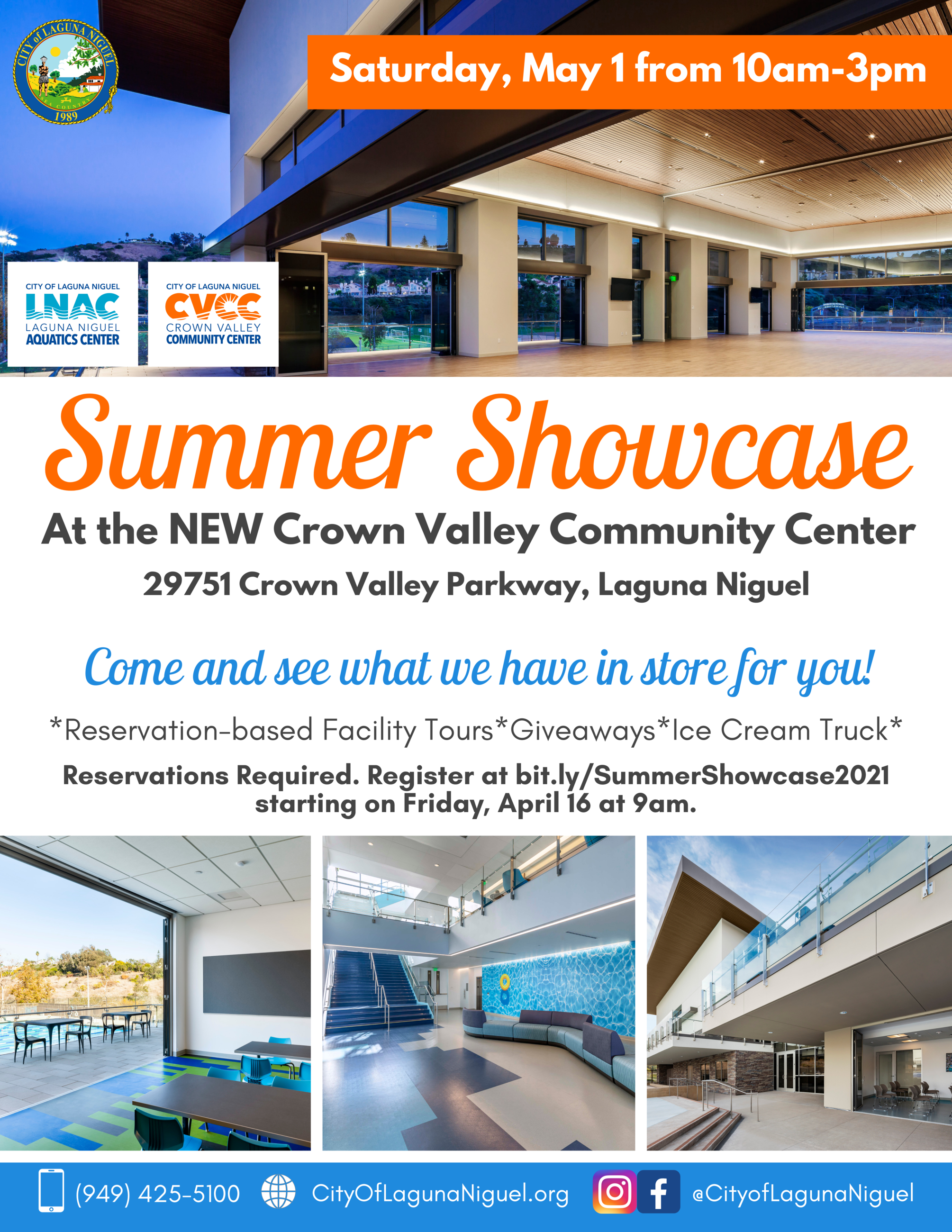 Summer Showcase Flyer